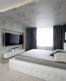 polyester spanplafond print