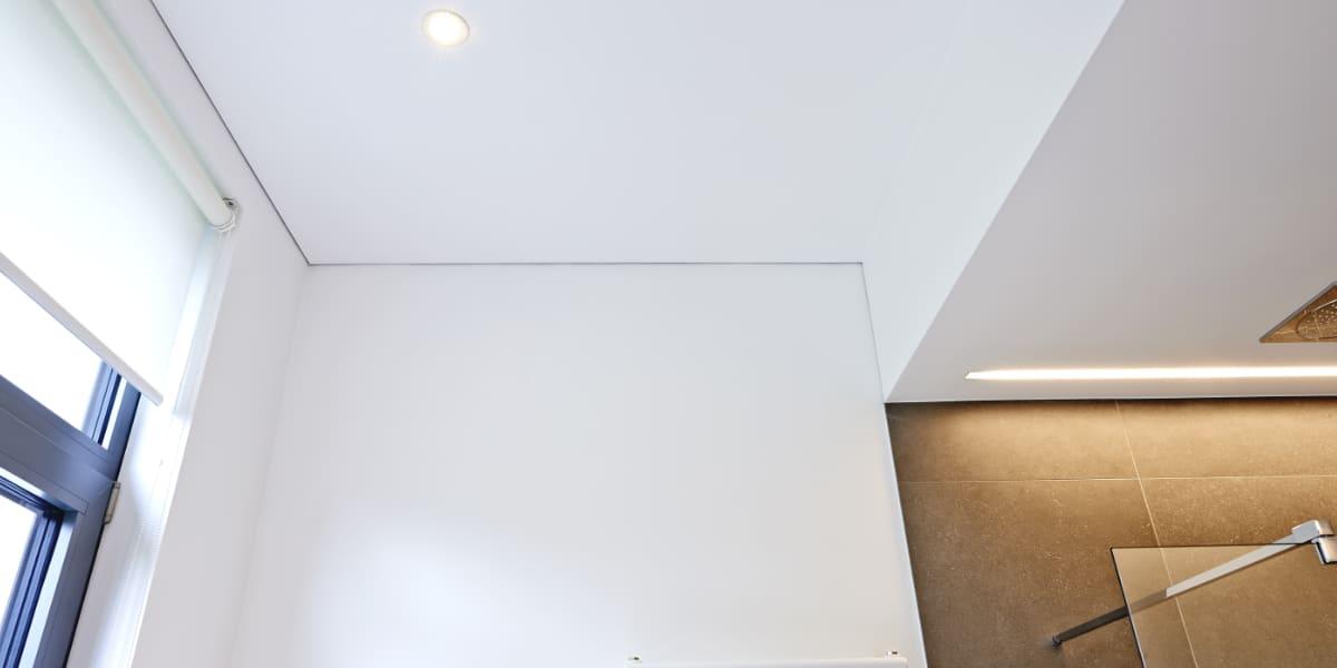 pvc spanplafond plaatsen