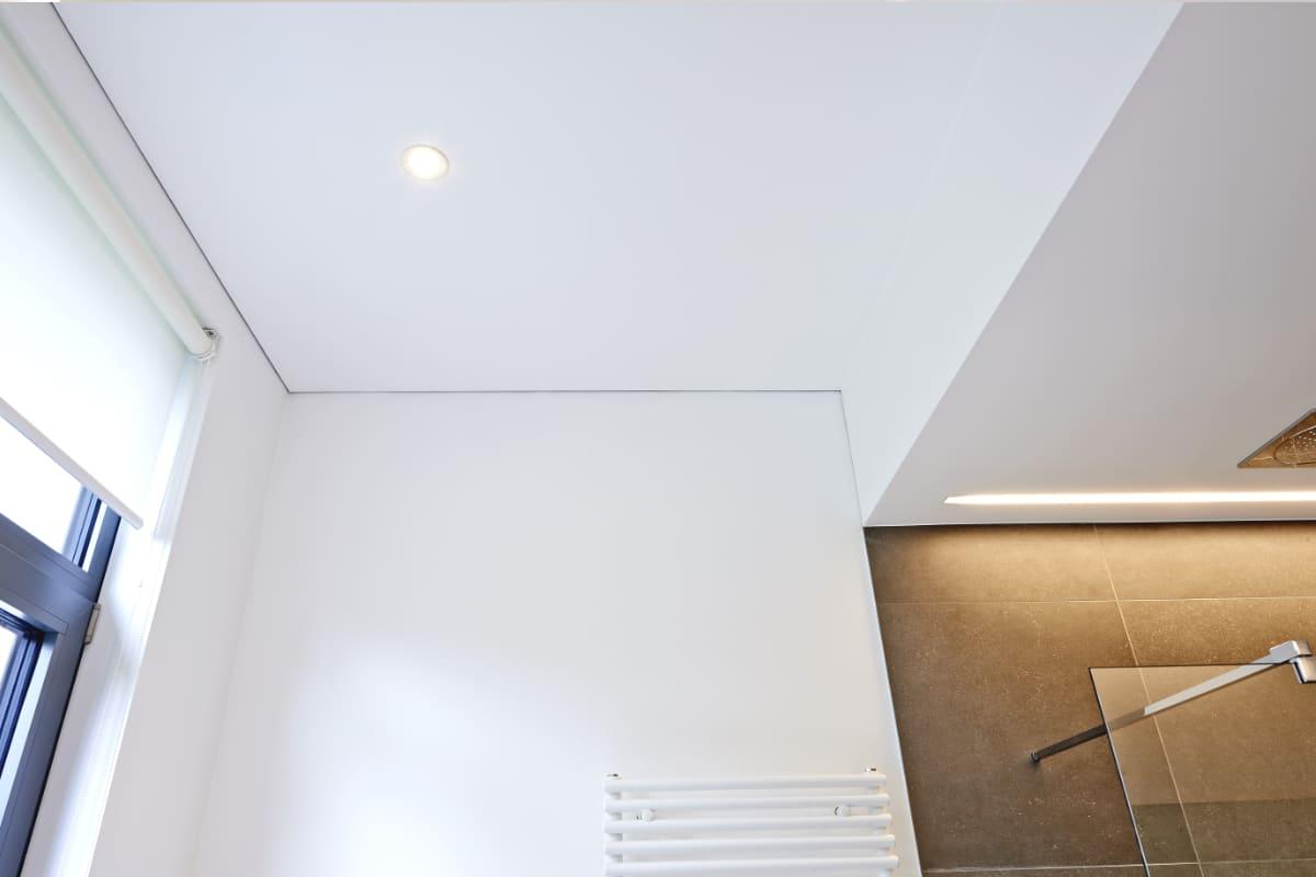 wit spanplafond badkamer voor- en nadelen